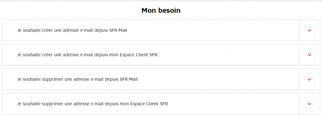sfr mail messagerie