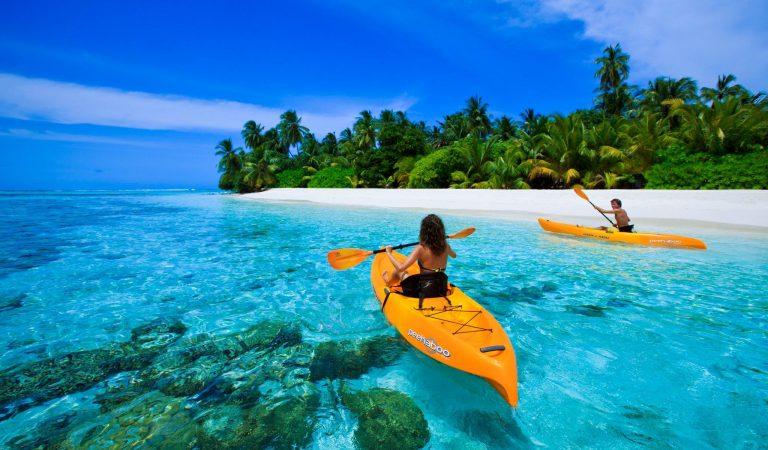 Kayak vol pas cher   Les meilleures îles   mer