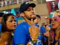 neymar psg au carnaval de rio