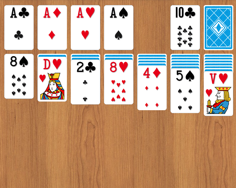 spider solitaire exemple