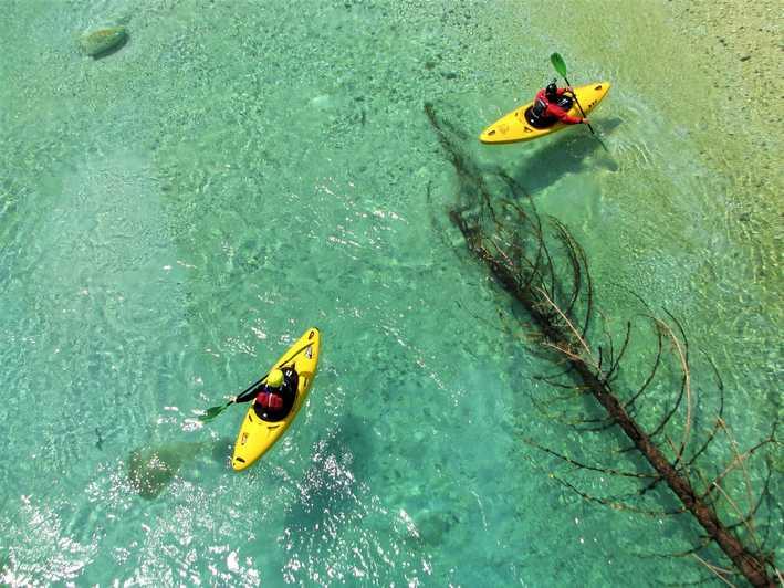 vol kayak à soca slovénie