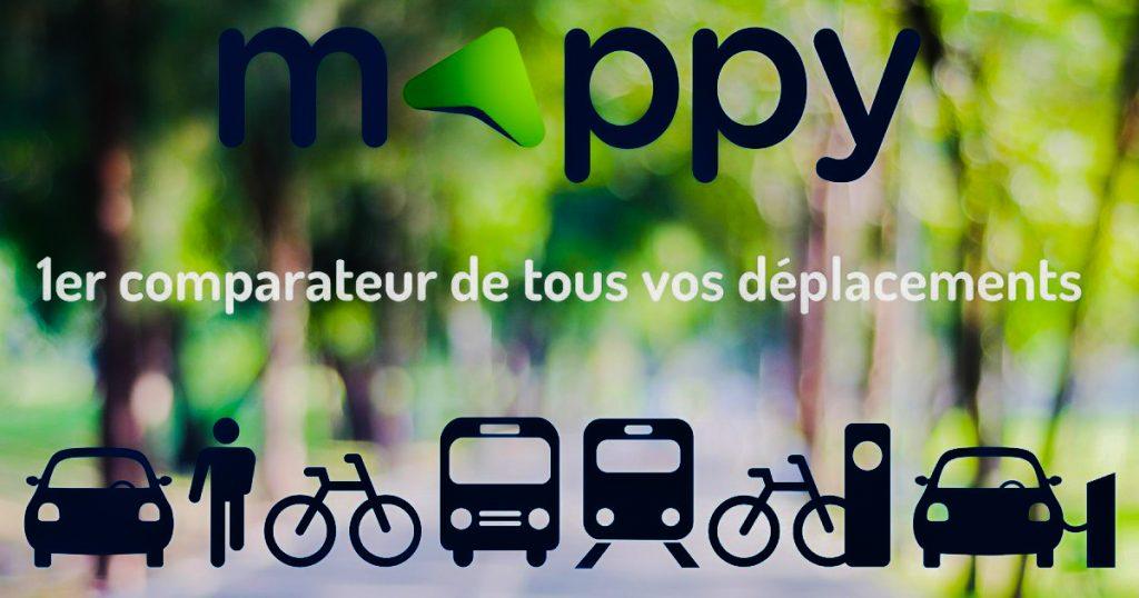 mappy itinéraire logo