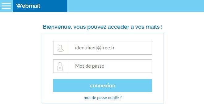 webmail free zimbra se connecter