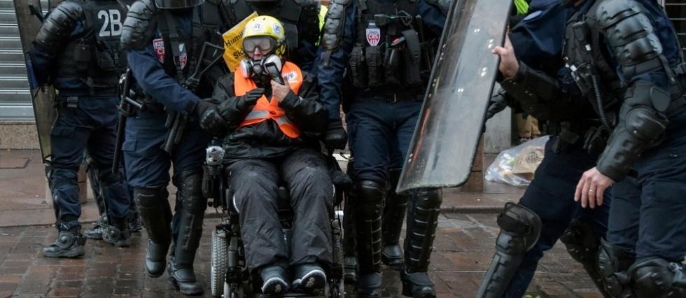 Un policier condamné pour avoir gazé un handicapé appellé pascal